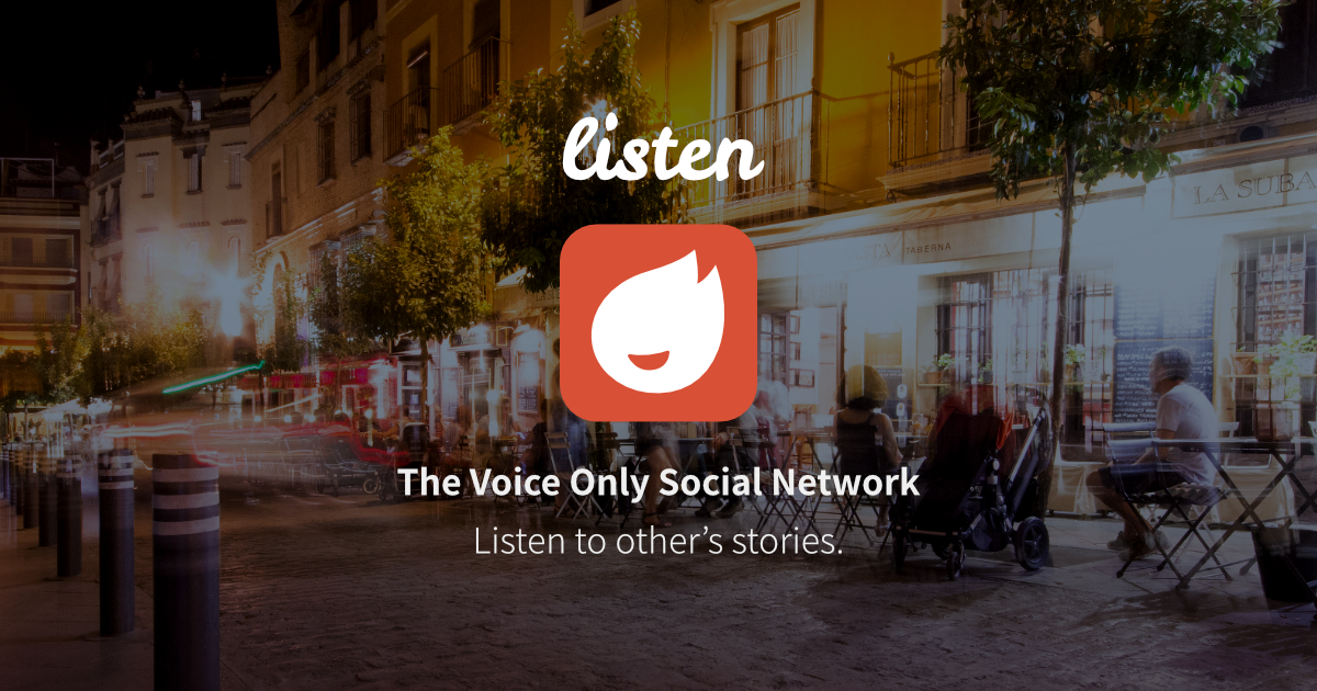 voice only social network